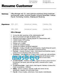 Office Manager Job Description For Resume Supervisor Job Description