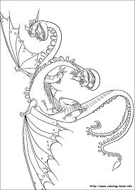 How To Train Your Dragon Coloring Pages On Coloring Bookinfo