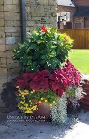 Plan A Container Garden  Garden ClubContainer Garden Plans Flowers