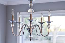 kitchen nook chrome and crystal cool chandelier 1