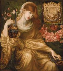 the roman widow dante gabriel rossetti