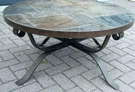 round iron coffee table wrought iron coffee tables coffee iron stone top end tables stone top table marble side table stone coffee top