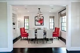 red dining room chairs awesome red accent chairs in the dining room home design lover accent
