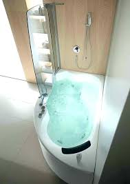 tub and shower combo whirlpool corner bathtub corner bathtub shower combo small bathroom corner whirlpool shower