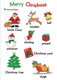 คำศัพท์ภาษาอังกฤษ หมวดวันคริสต์มาส Christmas Vocabulary -  learningstudio.info