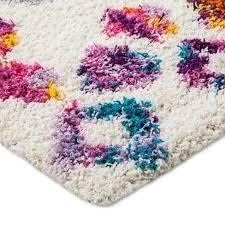 Shag rugs Target Machine Made Boho Diamond Shag Rug Target