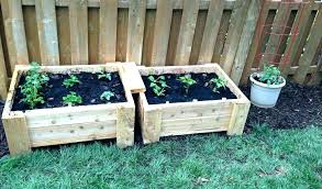 raised garden bed on legs elevated beds plans for making a with