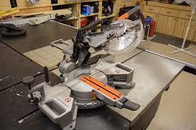ridgid tools saw. ridgid cordless miter saw 45 degree bevel right tools