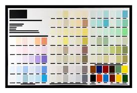 Peter Atkins Work Deconstructed Colour Charts 2019