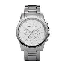 buy the men s armani exchange ax2058 watch francis gaye jewellers armani exchange men s quartz chronograph watch ax2058