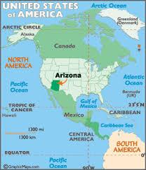 arizona map geography of arizona map of arizona worldatlas com Map Northeastern Arizona locator map of arizona, usa map northeast arizona