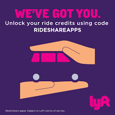 best lyft promo code and free ride credits