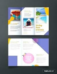 Free Templates For Publisher Free Holiday Travel Brochure Template Publisher Download