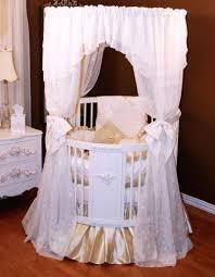 baby cribs round circle crib circular white discount .