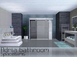 adria bathroom on the sims resource sims 3 wall art with spacesims adria bathroom