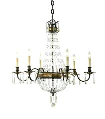 bronze crystal chandelier garden of light