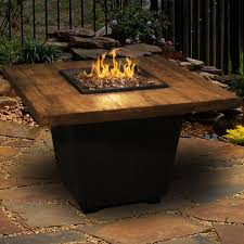 modern home interior design  fire pit tables wood gas fire tables