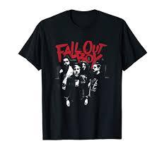 Fall Out Boy Merch Size Chart Fall Out Boy Punk Scratch T Shirt