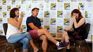 interview carole and john barrowman tell all well a lot anyway sdcc 16 video interview carole and john barrowman tell all well a