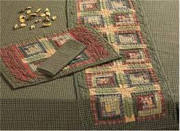 patterns for country tablerunners | Quilted Placemats 12x18 ... & patterns for country tablerunners | Quilted Placemats 12x18 - $8.99 Adamdwight.com