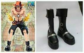 Boldly released the first 24 pages of the first episode that has been done !! One Piece Portgas D Ace Cosplay Costume Boots Boot Shoes Shoe Uk Ebay