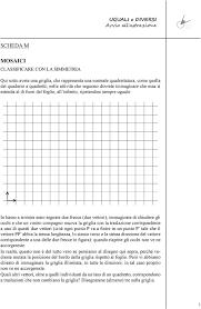 Scheda M Mosaici Classificare Con La Simmetria Pdf