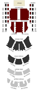 Plaza Theater Seating Chart Kennedy Center Opera House