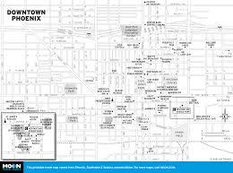 printable travel maps of arizona moon travel guides Travel Map Of Arizona travel map of downtown phoenix, arizona downtown phoenix travel map of arizona and utah