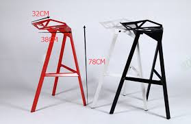 continental iron cast leisure designer chair bar stool creative geometric tall chairs in bar chairs from furniture on aliexpress com alibaba group