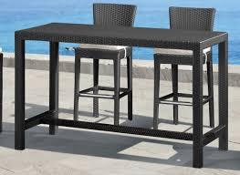 Zuo Modern Anguilla Bar Height Outdoor Table And Chairs Brisbane Outdoor Bar Table And Chairs Brisbane