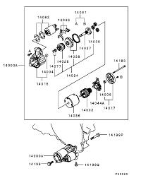 Mitsubishi delica l400 4m40 starter motor australia stock shipped