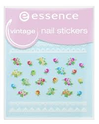 <b>Наклейки для ногтей</b> ЕSSENCE nail art т.17 <b>vintage</b> Essence ...