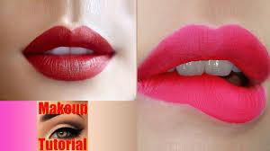 makeup tutorial chel lips no sound red lips makeup asmr makeup tutorial for beginner hd 720p