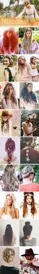 20 Boho Music Festival Hair Ideas To Buy Diy účesy Flätor