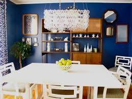 navy blue dining rooms. Blue Dining Room Beautiful Two Bedrooms And A Baby Navy House Home Rooms