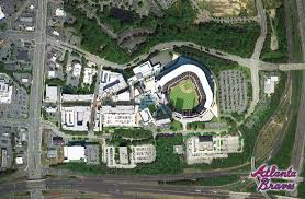 Atlanta Braves Stadium Design Braves Stadium In Cobb County Development Renderings