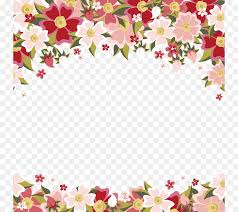 Ppt Flowers Flower Microsoft Powerpoint Template Ppt Floral Design Vector