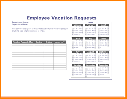 Sample Vacation Request Form Brilliant Ideas Of 24 Vacation Request Form Template On Sample 6