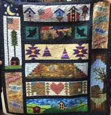 Arizona Row by Row Experience & ... AZ); and Sager Creek Quilts (Siloam Springs, AR). She did all the  machine piecing and applique in her quilt, and Barbara Stack did the  quilting. Adamdwight.com