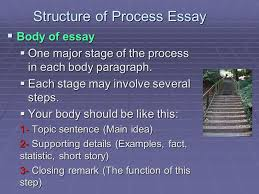 the process essay third lecture ppt video online  structure of process essay