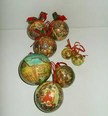 Weihnachtskugeln 7 St Christbaumschmuck Nostalgie Motive