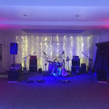 wedding d with fairy light drops prested hall es