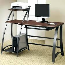 small desk on wheels small computer table compact folding glass desk furniture desks home office credenza