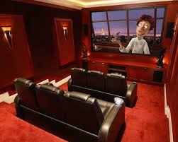 basement home theater. 15 awesome basement home theater [cinema room ideas]