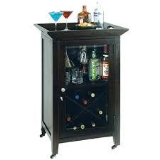 corner target bar cabinet alcohol rustic liquor wine rack wall hanging