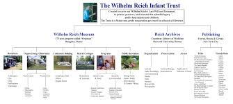 Wilhelm Reich Infant Trust Organizational Chart