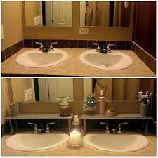 over sink shelves made from 5 family dollar brown wooden long sink shelves cut