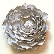 image 0 ceramic flower wall decor tile white