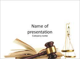 Law Templates Symbols Law Hammer Book And A Cup Of Equilibrium Powerpoint Template