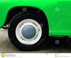 Oude Retro Auto Op Tentoonstelling Stock Afbeelding Afbeelding